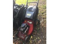 Petrol lawn mower mount field