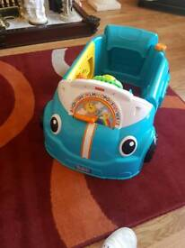 Musical fisher price car