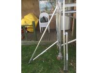 Pair of Scaffold Tower Aluminium Outrigger bars