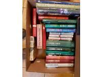 JOB LOT OF BOOKS, OVER 125, MAINLY HARDBACK