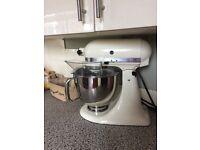 Kitchen Aid mixer cream