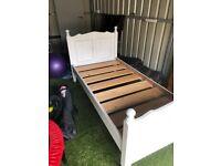 Solid Pine - Single Bed frame £30