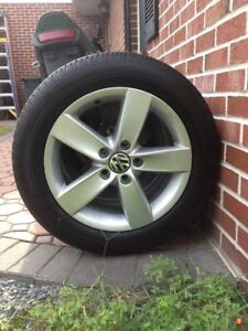 205/55R16 All season tires with Stock Jetta rims