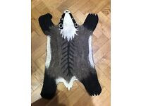 Sew Heart Felt Baby rug - Billie Badger rug - brandnew