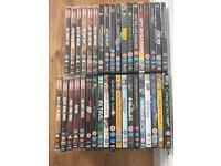 37 DVDs