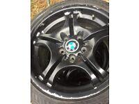 17 bmw alloy wheels