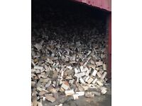 Seasoned firewood logs delivered throughout Dumfries and Galloway from £40