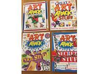 4 new Art Attack books