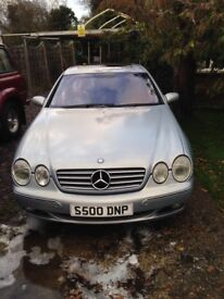 Mercedes CL500 AMG Look alike PRIVATE PLATE.