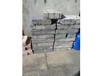 Used 13 Breeze Blocks & 65 + Roof Tiles £20