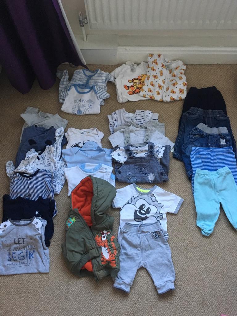 adb4c6eb5 Baby boy clothes bundle newborn 0-3
