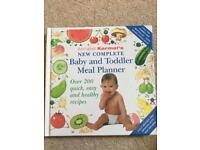 Annabel Karmel's new complete baby & toddler meal planner cookbook weaning