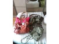 Bundle of new & used Handbags x9