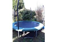 Large Jumpking trampoline (3m diameter)