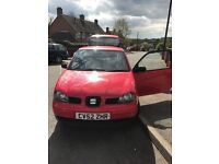 Seat Arosa, great little car for its age, needs an MOT