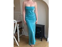 Zafir London designer prom/evening dress/Elsa Frozen fancy dress