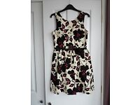 Oasis floral party dress size 10