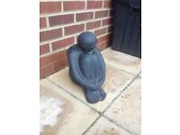 Terracotta statue for the garden