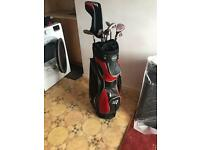 Used left handed golf clubs