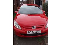 2005 Peugeot 307 - New engine in 2013 - Spares or Repair as it won't start.