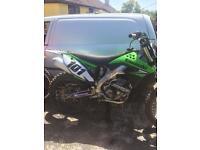 Kawasaki kx250 4 stroke