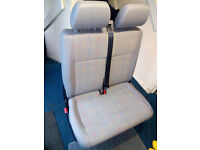 volkswagon transporter t5 seats double and single condition like new