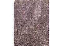 Large heather rug