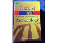 Oxford archaeology dictionary