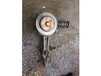 Civic 1.8 Vti driver side rear hub 262mm auction for rear arm only suspension not included.