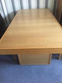 Osaka oak large dining table