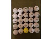 25 Calloway golf balls