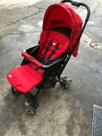 Join Push Chair with car seat & rain cover
