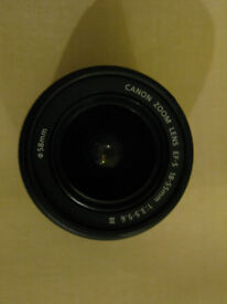 Canon EF-S 18-55 3.5-5.6 III lens , as new