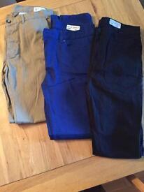Trousers bundle 32w 34l