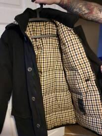 Men's aquascutum coat