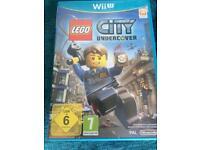 Wii u game. Lego city.