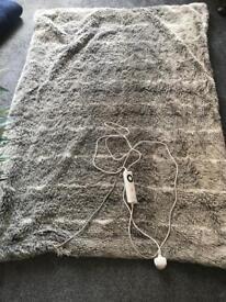 Faux Fur Electric Blanket