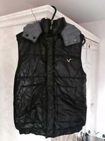 Original Voi reversible body warmer,UK size small,costs £135,bargain at £45, only 1 month old