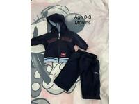 Lonsdale baby tracksuit