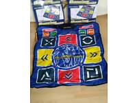 2 Joytech Dancing Mate Mats PlayStation 2!