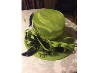 Lime Green Hat (Worn Once So Like New) - See All Photos