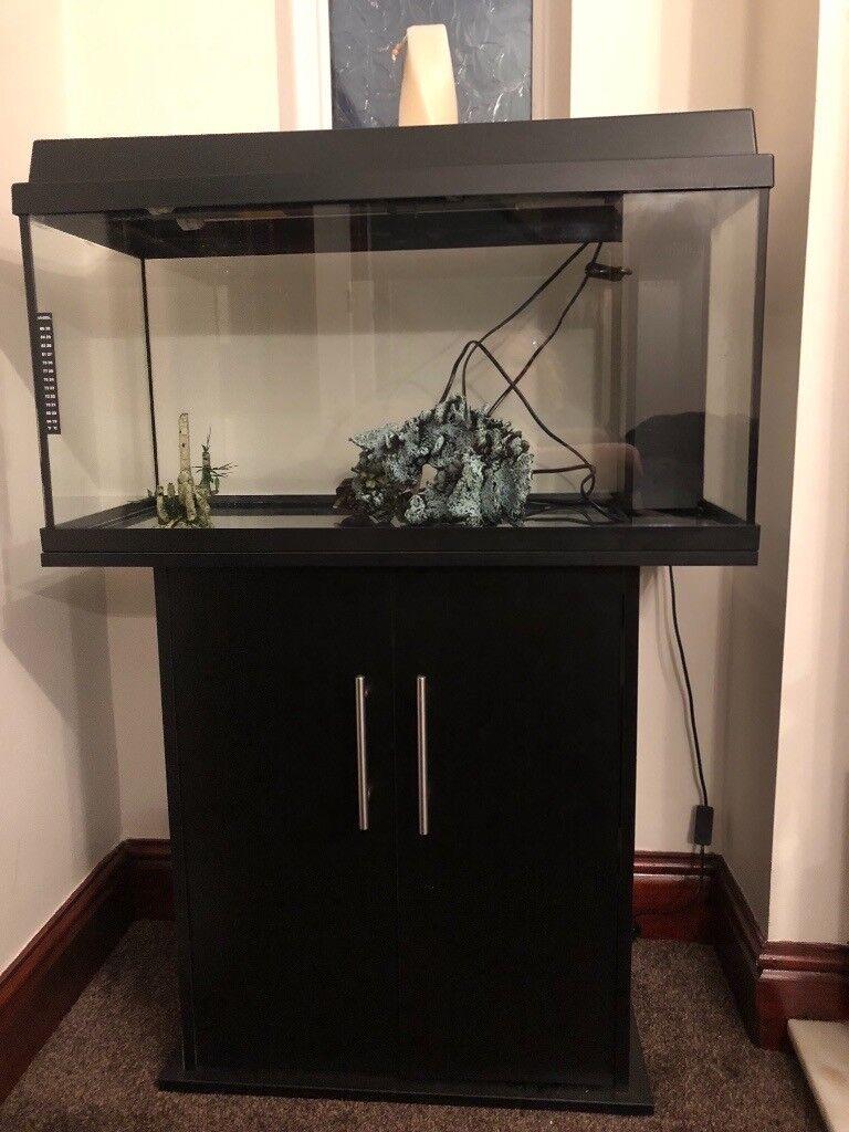 Aquarium Fish Tank And Stand Juwel Primo 110 Black In Childwall