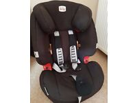 BRITAX Evolva Child Car Seat 1-2-3 Plus High Back Booster with Harness. Excellent condition