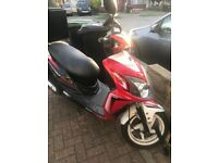 Sym jet 125cc red and white