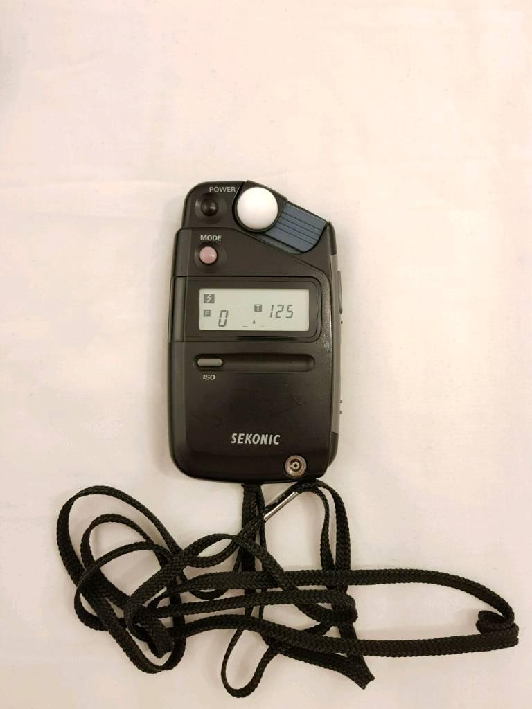 Sekonic Flashmate L308B. Exposure Meter