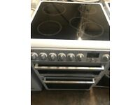 Hotpoint new model 60cm wide fully working electric ceramic plate cooker for sale
