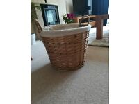 Large whicker basket