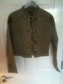 Women's NWOT Size 14 Jane Norman Military Style Jacket (Perfect for Christmas)