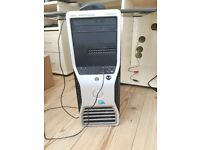 Dell T3500 workstation PC. Comes with keyboard and mouse.
