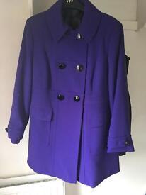 Purple coat